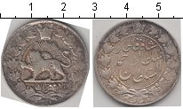 Изображение Монеты Иран 2 крана 1911 Серебро  KM# 1040