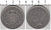 Изображение Монеты Бельгия 20 франков 1931 Медно-никель XF Альберт I