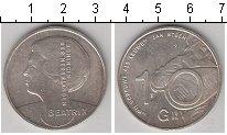 Изображение Монеты Нидерланды 10 гульденов 1996 Серебро UNC- Беатрикс