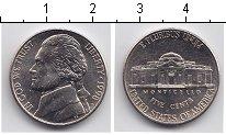 Изображение Мелочь США 5 центов 0 Медно-никель  KM#A192 Даниэль Буне