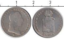 Изображение Монеты Италия 1/2 лиры 1823 Серебро  Ломбардия и Венеция.