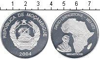 Изображение Монеты Мозамбик 1000 метикаль 2004 Посеребрение Proof- Давид Ливингстон