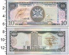 Изображение Боны Тринидад и Тобаго 10 долларов 2006  UNC