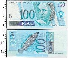 """Изображение Боны Бразилия 100 реалов 2002   <font face=""""arial, s"""