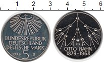 Изображение Мелочь ФРГ 5 марок 1979 Медно-никель Proof Отто Ханн.