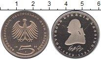 Изображение Мелочь ФРГ 5 марок 1981 Медно-никель Proof Лессинг