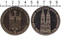 Изображение Мелочь Германия ФРГ 5 марок 1980 Медно-никель Proof