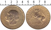 Изображение Монеты Вестфалия 10000 марок 1923 Медь UNC-