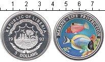 Изображение Монеты Либерия 5 долларов 1997 Серебро Proof-
