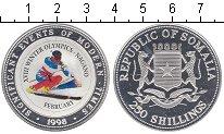 Изображение Монеты Сомали 250 шиллингов 1998 Серебро UNC- XVIII Олимпийские иг