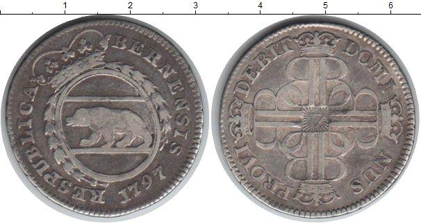 Картинка Монеты Берн 20 крейцеров Серебро 1797