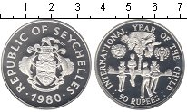 Изображение Монеты Сейшелы Сейшелы 1980 Серебро Proof-