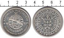 Изображение Мелочь Португалия 1000 эскудо 1983 Серебро UNC-