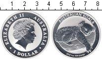 Изображение Мелочь Австралия 1 доллар 2012 Серебро Proof Коала