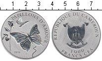 Изображение Мелочь Камерун 1000 франков 2010 Серебро Proof