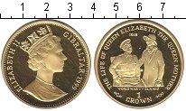 Изображение Монеты Гибралтар 1 крона 1999 Серебро UNC- Первая мировая война