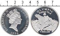 Изображение Монеты Острова Кука 5 долларов 1996 Серебро Proof- `Национальный парк `