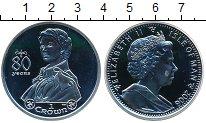 Изображение Монеты Остров Мэн 1 крона 2006 Серебро UNC- Елизабета II