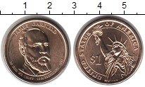 Изображение Монеты США 1 доллар 2011 Медно-никель UNC 20 й президент James