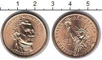 Изображение Мелочь США 1 доллар 2008 Медно-никель UNC- 5 й президент James