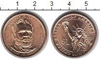 Изображение Мелочь США 1 доллар 2011 Медно-никель UNC 18-й президент Улисс