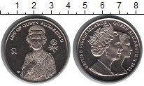 Монета Виргинские острова 1 доллар Медно-никель 2012 UNC-