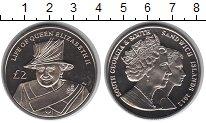 Изображение Мелочь Сендвичевы острова 2 фунта 2012 Медно-никель UNC Бриллиантовый юбилей