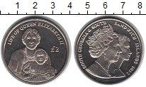 Изображение Мелочь Сендвичевы острова 2 фунта 2012 Медно-никель UNC- Елизавета II