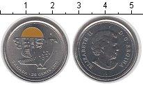 Изображение Мелочь Канада 25 центов 2011 Медно-никель UNC Елизавета II.<br>Ро