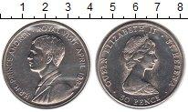 Изображение Мелочь Великобритания Остров Святой Елены 50 пенсов 1984 Медно-никель UNC