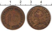 Изображение Монеты Франция 1 франк 1914   Де Боне. Для коммерц