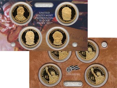 Изображение Подарочные наборы США Президенты США 2009  Proof `Подарочный набор ``