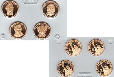 Изображение Подарочные монеты США Президенты США 2008  Proof `Подарочный набор ``