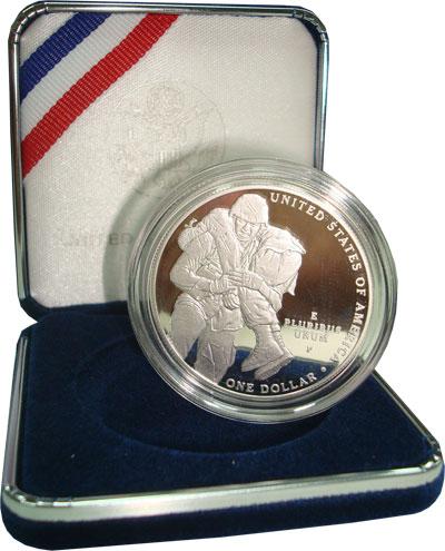 Изображение Подарочные наборы США 1 доллар 2011 Серебро Proof