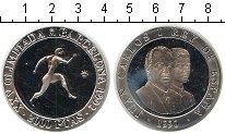 Изображение Монеты Испания 2000 песет 1990 Серебро Proof- Барселона 1992