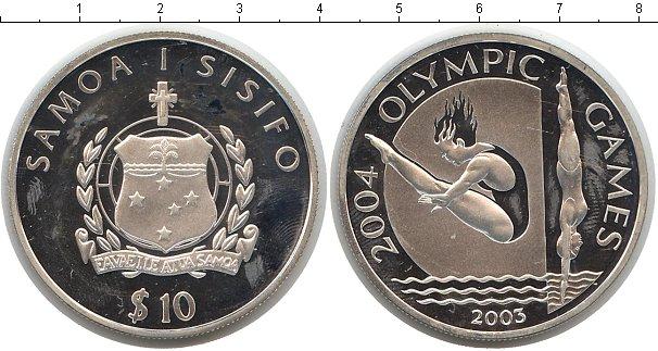 Картинка Монеты Самоа 10 тала Серебро 2003