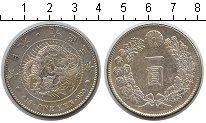 Изображение Монеты Япония 1 иена 1914 Серебро VF Y# 38