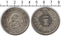 Изображение Монеты Япония 1 иена 1914 Серебро XF