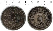 Изображение Монеты Япония 1 иена 1905 Серебро