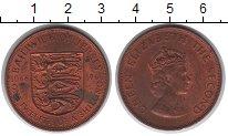 Изображение Мелочь Остров Джерси 1/12 шиллинга 1966 Медь UNC-