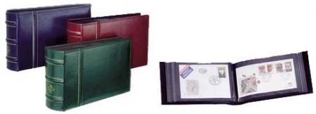 Картинка Аксессуары для монет Альбомы для открыток и конвертов Альбом для открыток и конвертов FDC 2  0