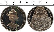 Изображение Мелочь Фолклендские острова 50 пенсов 2001 Медно-никель Proof- Чарльз II