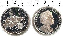Изображение Монеты Остров Мэн 1 крона 2005 Серебро Proof- Елизавета II FIFA 20