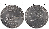 Изображение Мелочь США 5 центов 2004 Медно-никель UNC-