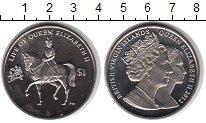 Изображение Мелочь Виргинские острова 1 доллар 2012 Медно-никель UNC Бриллиантовый юбилей