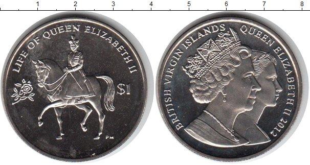 Картинка Мелочь Виргинские острова 1 доллар Медно-никель 2012