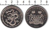 Монета Сьерра-Леоне 1 доллар Медно-никель 2000 UNC