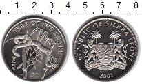 Изображение Мелочь Сьерра-Леоне 1 доллар 2001 Медно-никель UNC