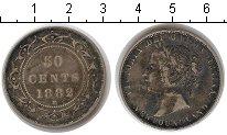 Изображение Монеты Ньюфаундленд 50 центов 1882 Серебро  Виктория