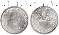 Изображение Монеты Ватикан 1000 лир 1982 Серебро UNC Иоанн Павел II